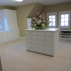 Traditional Closet Organizers by Cambridge Closets