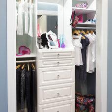 Traditional Closet by Custom Closets & More...