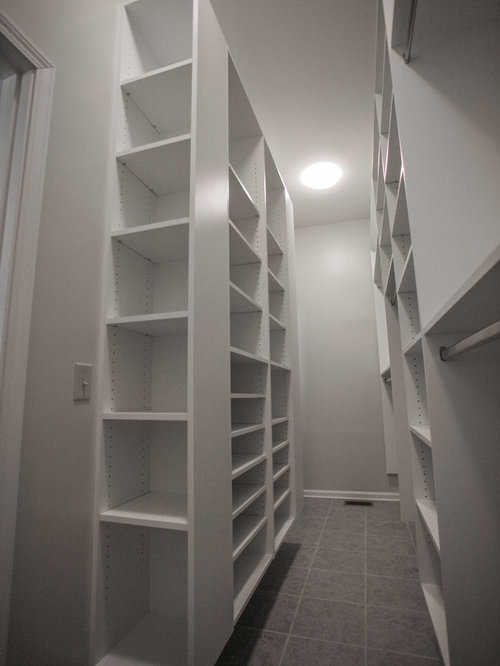 Narrow Walk In Closet Ideas Pictures Remodel And Decor