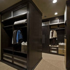 Caulfeild - Contemporary - Closet - Vancouver - by Old World Kitchens & Custom Cabinets