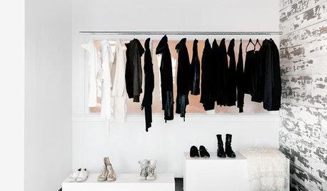 Come Vivere Senza un Armadio per i Vestiti