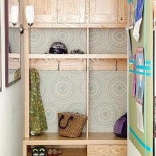 Eclectic Closet by Mona Ross Berman Interiors