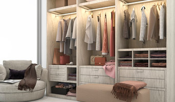 Newport Beach closet and kitchen organization