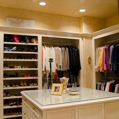 mediterranean closet by Christopher Lee & Company Fine Homes