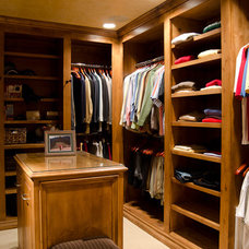 Traditional Closet by Christopher Lee & Company Fine Homes
