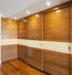 contemporary closet by W. David Seidel, AIA - Architect
