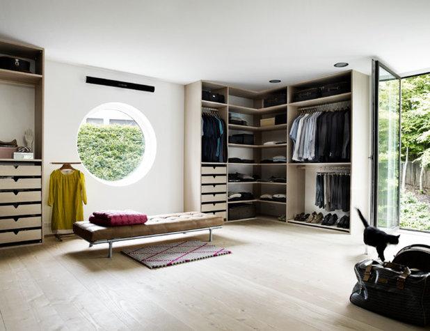 Skandinavisk Opbevaring & garderobe by Arkitekt M.A.A Thomas Meedom-Bæch