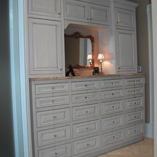 Traditional Closet by Old Mill Cabinet Co.