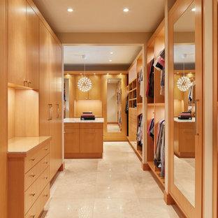 Closet - mid-century modern closet idea in Seattle