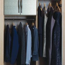 Contemporary Closet by California Closets New England