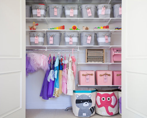 Reach-In Closet Design Ideas, Remodels & Photos