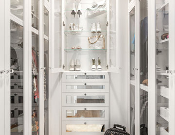 NYC Apartment Walk-in Closet