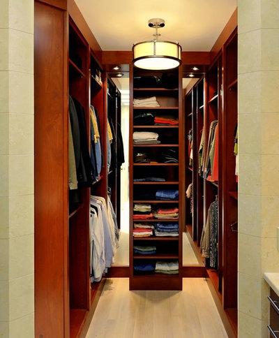 Contemporary Closet by Design Studio International