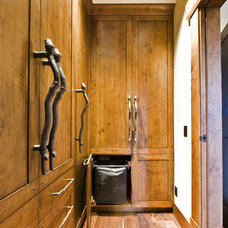 Rustic Closet by Sticks and Stones Design Group inc.