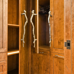 modern closet by Sticks and Stones Design Group inc.