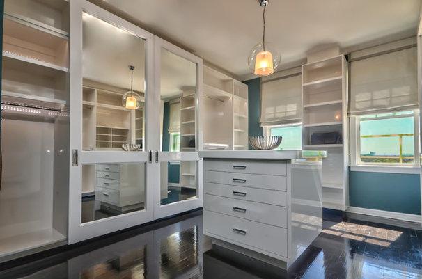 Contemporary Closet by Casa Nova Design Group