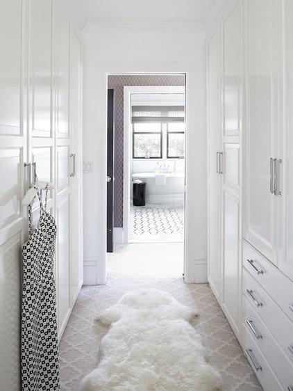 Transitional Closet by Urrutia Design