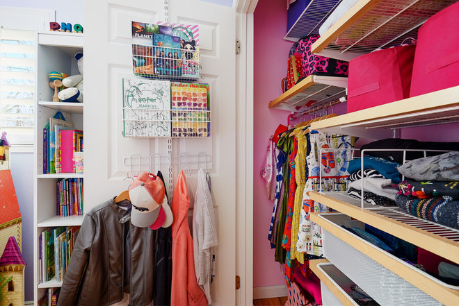 Transitional Closet by All Buttoned Up - Smart Organization Solutions