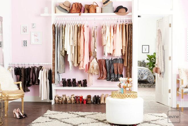 Contemporary Closet by Boottique, Inc.