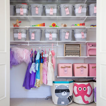 Organized Kid's Rooms & Playrooms