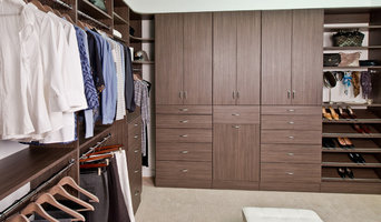Organized Living Classica Driftwood Live Walk-In Closet