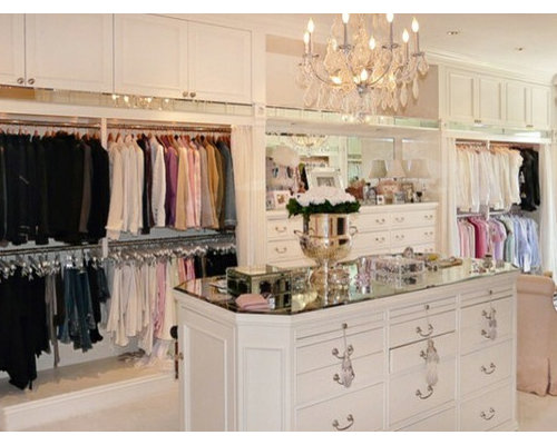 inspiration for a midsized womenu0027s walkin closet remodel in los angeles