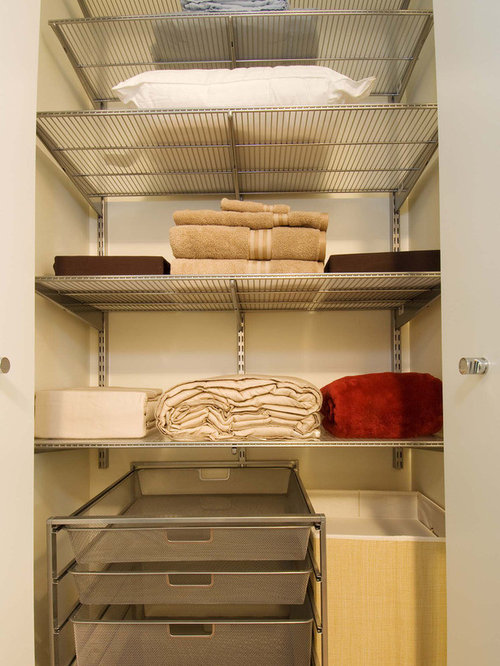 586 wire shelving Closet Design Photos