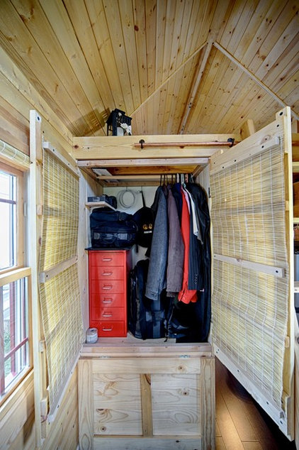 Rustic Closet by The Tiny Tack House