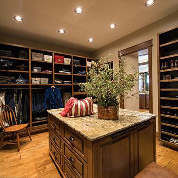 Owner's Corridor luxury closet
