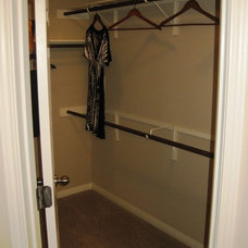 Traditional Closet by Pacesetter Homes