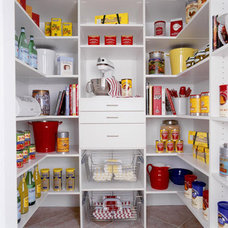 Contemporary Closet Pantry