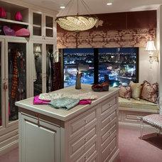 Contemporary Closet by Bonnie Sachs, ASID