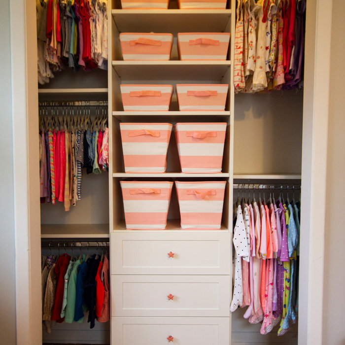 Perfect Nursery Closet