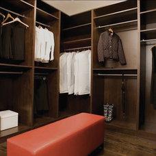 Contemporary Closet by Perfection Custom Closets