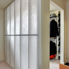 Contemporary Closet by Fivedot Design Build