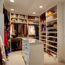 Traditional Closet by Connie Anderson Photography
