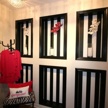 Pink & Black Dressing Room