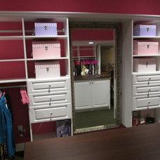 Traditional Closet by Liberty Closet and Garage Company