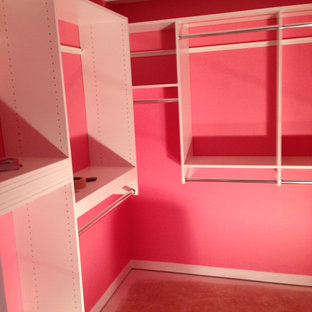 Pink Closet (before carpet)