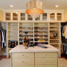 Traditional Closet by Accent on Closets