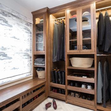 Portland Heights Master Bath + Closet