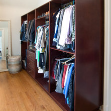 Victorian Closet by Beco Kitchens and Baths