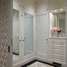 Contemporary Closet by Charlie Barnett Associates