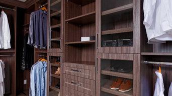 Prestigious Walk In Closet in Richmond.