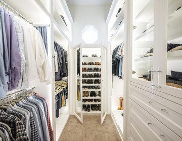 Preston Hollow His & Her Closet