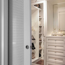 Traditional Closet by Richard Ziegler Architect Inc.