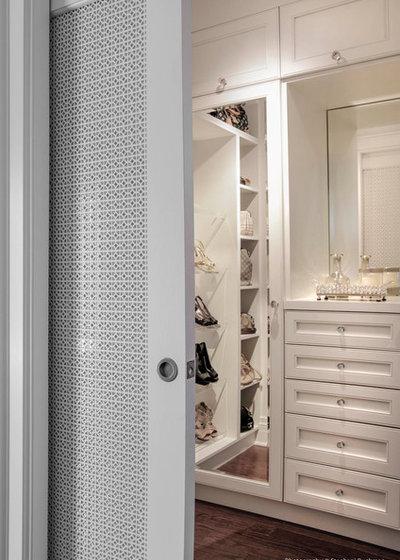 Traditional Closet by Richard Ziegler Architect Inc.