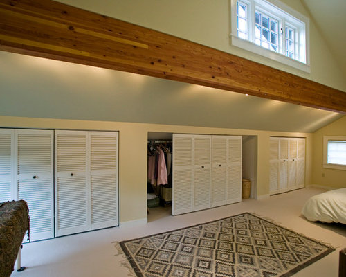 Knee Wall Closet Home Design Ideas Pictures Remodel And