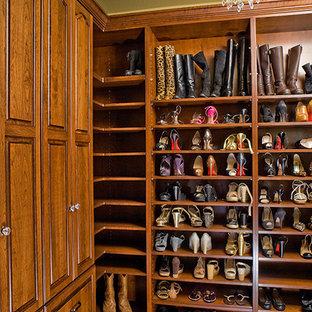 Photo of a mediterranean storage and wardrobe in Tampa.