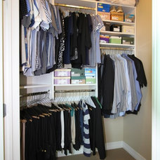 Traditional Closet by Techline Furniture, Cabinetry & Closets